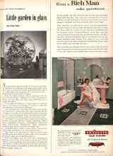 Better Homes & Gardens from 1952 | Now's the time to make a Little garden in glass